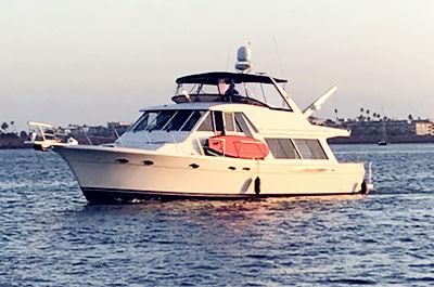 marina del rey yacht charter meridian 53' yacht rental