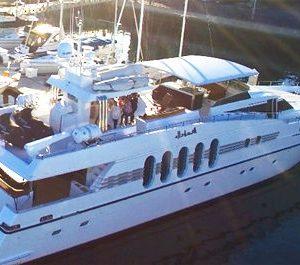 marina del rey yacht charter 108 feet mega yacht rental