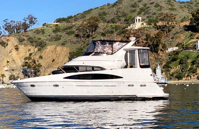 marina del rey yacht charter carver 400 motor yacht rental