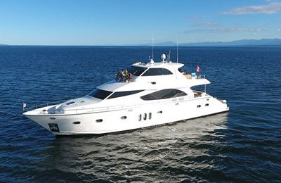 vancouver yacht rental luxury motor yacht charter 80 feet polaris yacht
