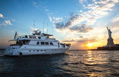 new york yacht charter 97' motor yacht rental