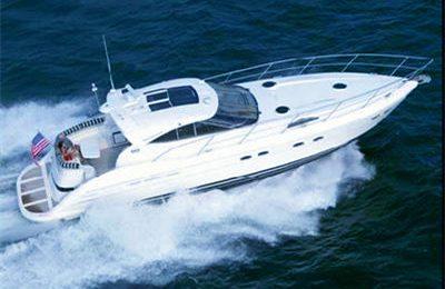 new york yacht charter 60' express cruiser yacht rental