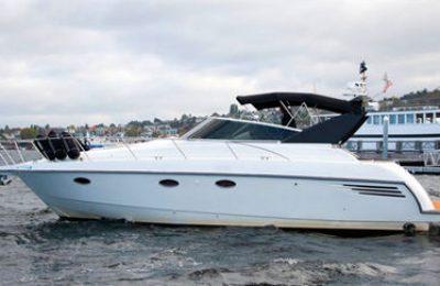 Seattle yacht charter trojian 38 express yacht rental