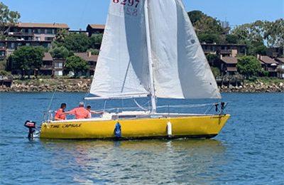 marina del rey boat rental 25' sailboat charter