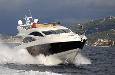 san francisco yacht charter 73' sunseeker manhathan yacht rental