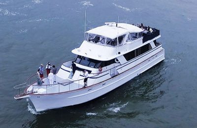 new york yacht charter 80' party boat rental