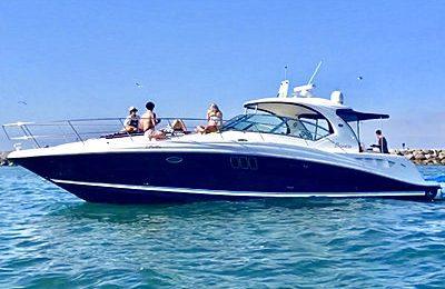 marina del rey yacht charter 44' sundancer yacht rental