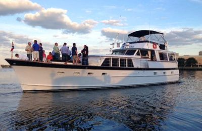 Boston private party yacht charte