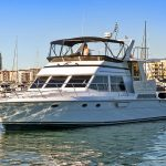 marina del rey 57 feet motor yacht private charters