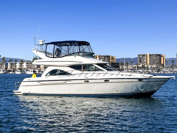 los angeles 46 feet motor yacht charter
