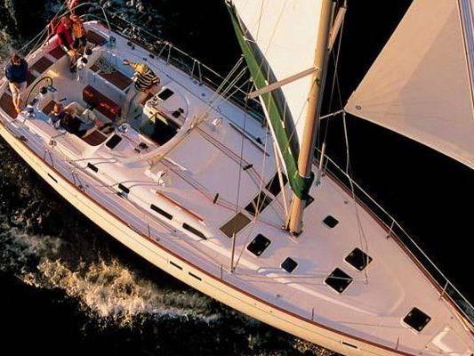 monohull Sailboat Yacht Charter in Marina Del Rey