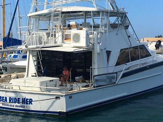 Motor Yacht Yacht Rental in Honolulu