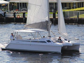 Catamaran Sailing Yacht Yacht Rentals in JERSEY CITY