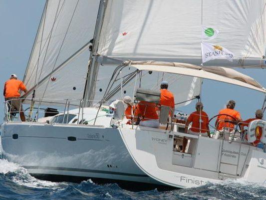 Monohull Sailboat Yacht Rental in Winthrop