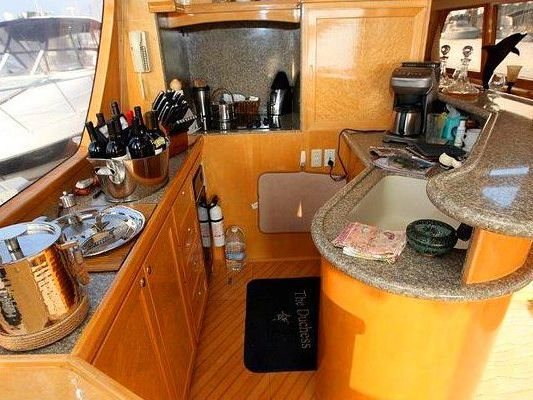 Express Cruiser Yacht Boat Charter in Marina del Rey