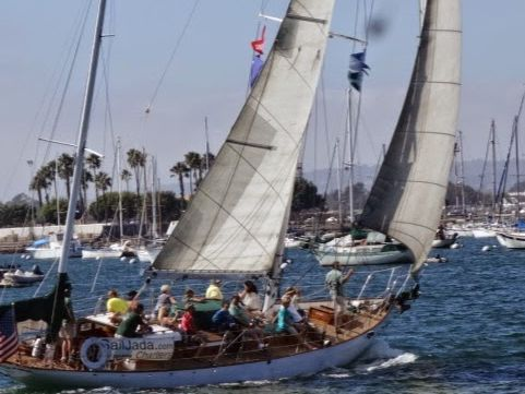 Monohull Sailboat Yacht Rental in San Diego