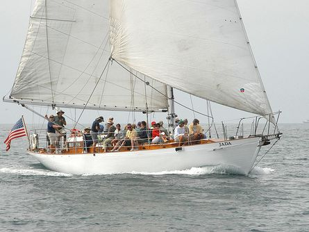 Monohull Sailboat Yacht Rentals in San Diego