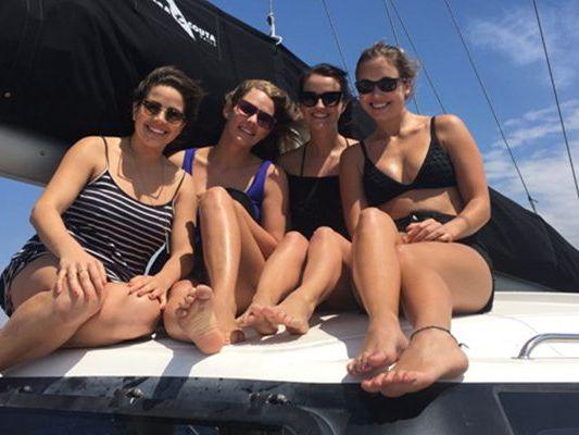 Catamaran sailing yacht Boat Charter in Sydney