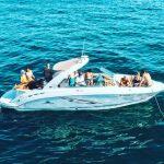 newport beach yacht charter 29 feet power boat rental