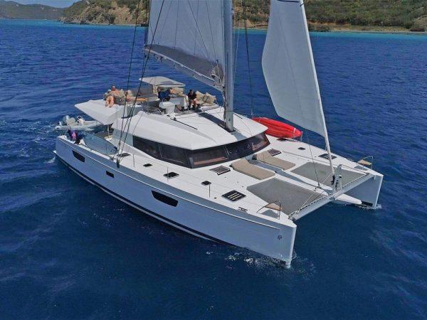 marina del rey 58' catamaran charter