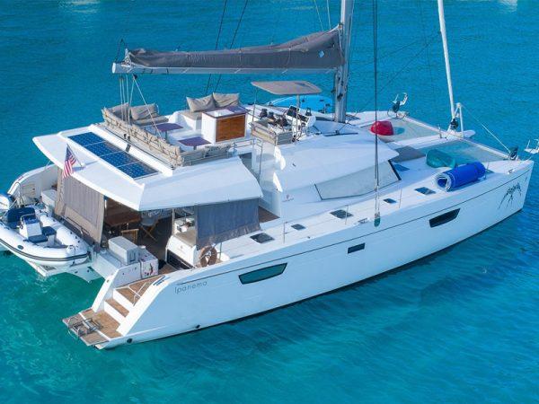 marina del rey 58 feet catamaran yacht charter
