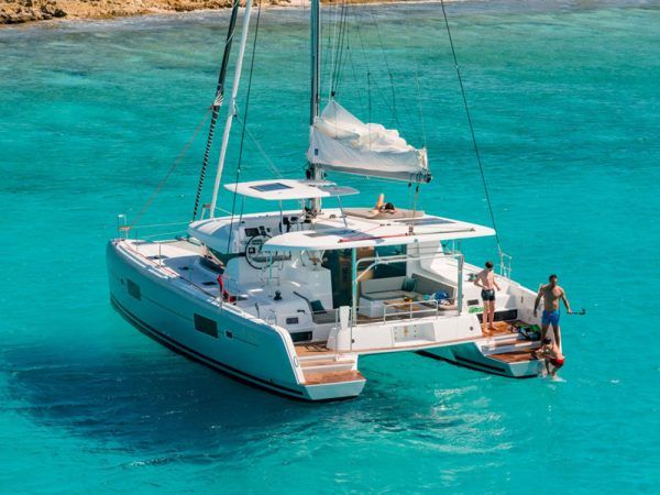 marina del rey lagoon 42 catamaran charter